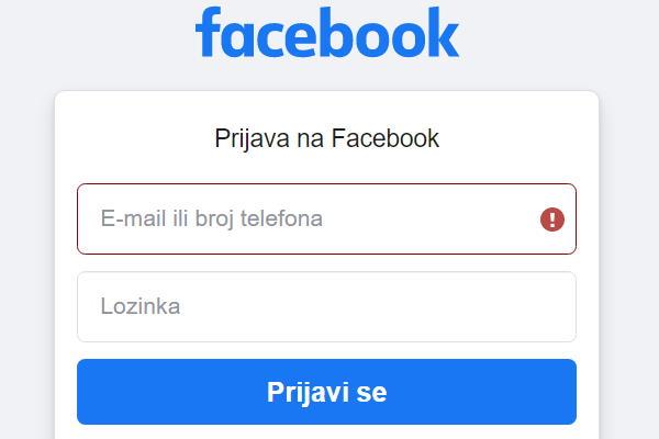 Kako promijeniti ime (prezime) na Facebooku?