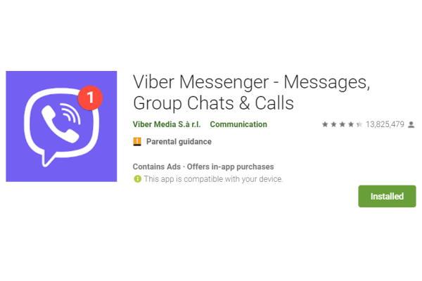 Mobilna aplikacija Viber za besplatno telefoniranje i slanje poruka